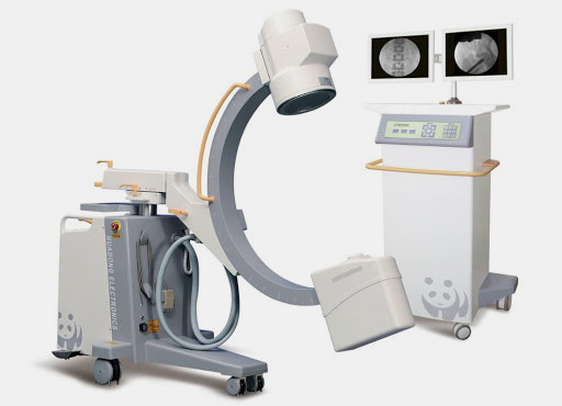c arm flouroscopy machine